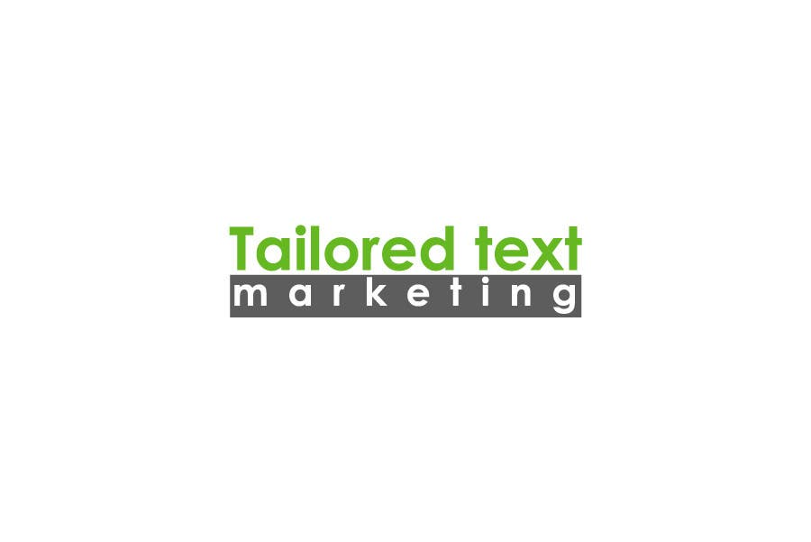 Proposition n°                                        90                                      du concours                                         Logo Design for Tailored text marketing