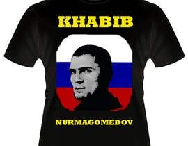 #7 for T-shirt design - Khabib UFC -- 10/14/2018 9:19:29 am by afifudeen12