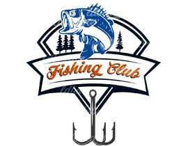 Nro 26 kilpailuun Fishing club logo käyttäjältä ldburgos