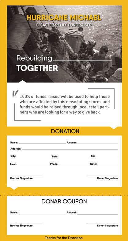 Конкурсная заявка №138 для Hurricane Michael Disaster Relief Fundraiser