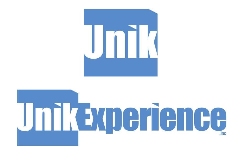 Kilpailutyö #                                        21                                      kilpailussa                                         Logo Design for Unik Experience