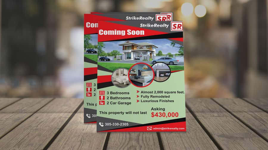 4ca08821f6 Entry #52 by rajufarajee for Coming Soon Flyer | Freelancer