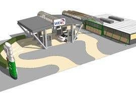 nº 26 pour Design Gas Station Building par dodyardiansyah
