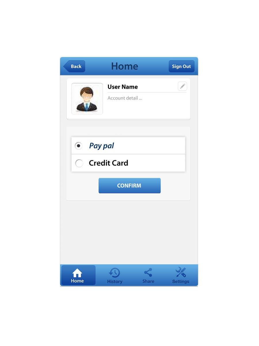 Конкурсная заявка №6 для Mobile payment App