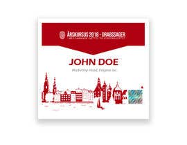 nº 36 pour Design template ID card design for conference par whitebeast