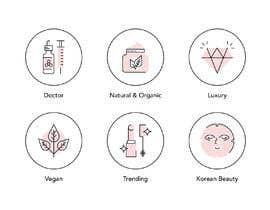 #27 cho Design 6 icons for beautybrand categories bởi magdagogo