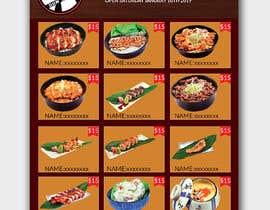 #30 para Create a food flyer de piashm3085