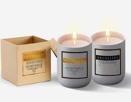 nº 74 pour Design a logo, label and packaging for a scented candle start-up par lounzep