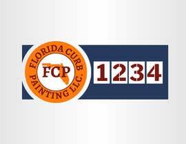 #77 untuk Design a logo for Florida Curb Painting oleh nouragaber