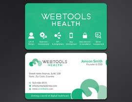 #841 untuk Business Card Design - Webtools Health oleh Neamotullah