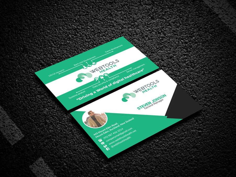 Contest Entry #890 for Business Card Design - Webtools Health