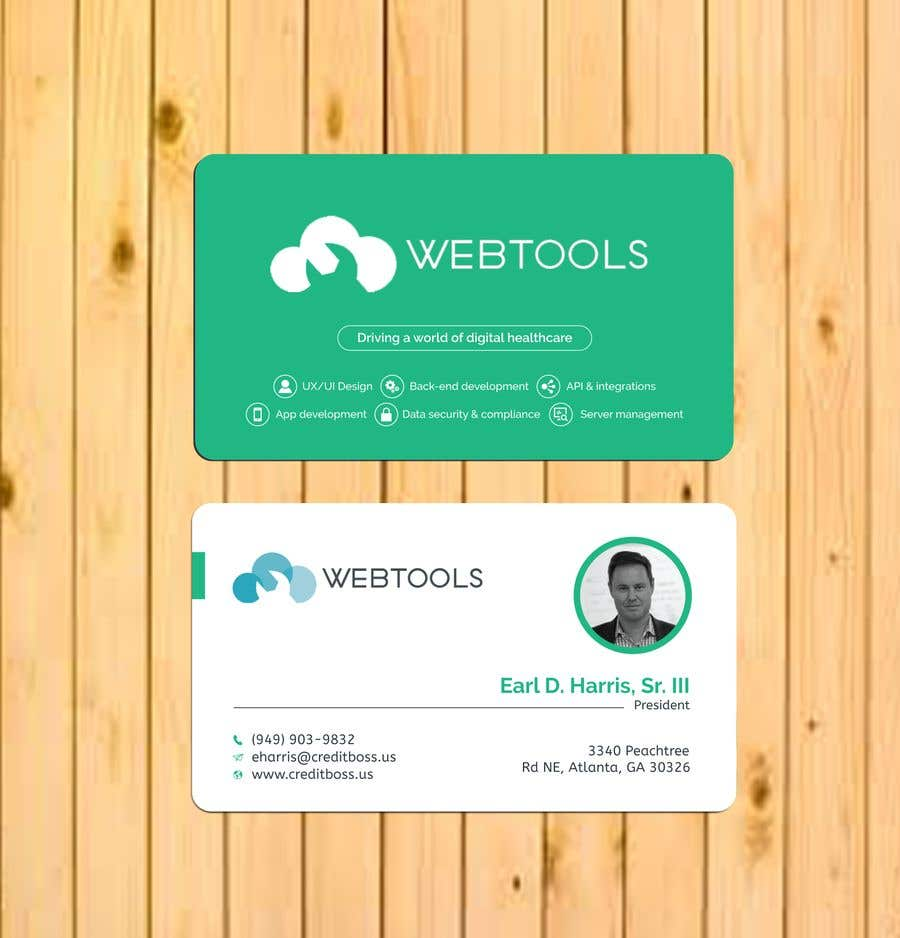 Contest Entry #1314 for Business Card Design - Webtools Health