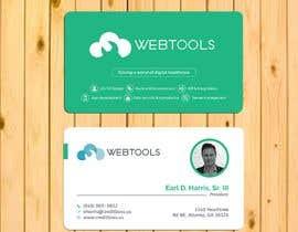 #1314 untuk Business Card Design - Webtools Health oleh firozbogra212125