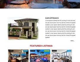 #16 for Design my Real Estate Homepage by developingzone