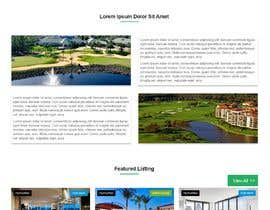 #58 for Design my Real Estate Homepage by Dineshaps