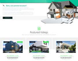 #55 for Design my Real Estate Homepage by claudiuddu