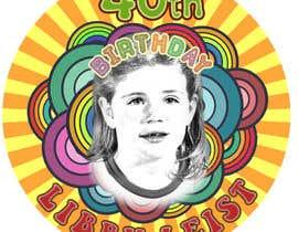 #48 para Design a Logo for 40th Birthday Party - 70s Theme por juchin26