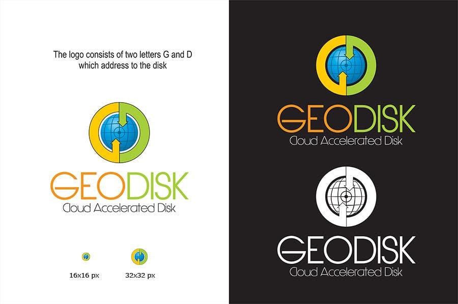 Proposition n°136 du concours Logo Design for GeoDisk.org