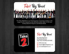 #35 for Design a business card for a Big Band by papri802030