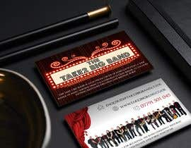 #79 для Design a business card for a Big Band від vanv4n