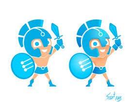#46 for Design a digital gladiator (Warrior) character by argonzalez
