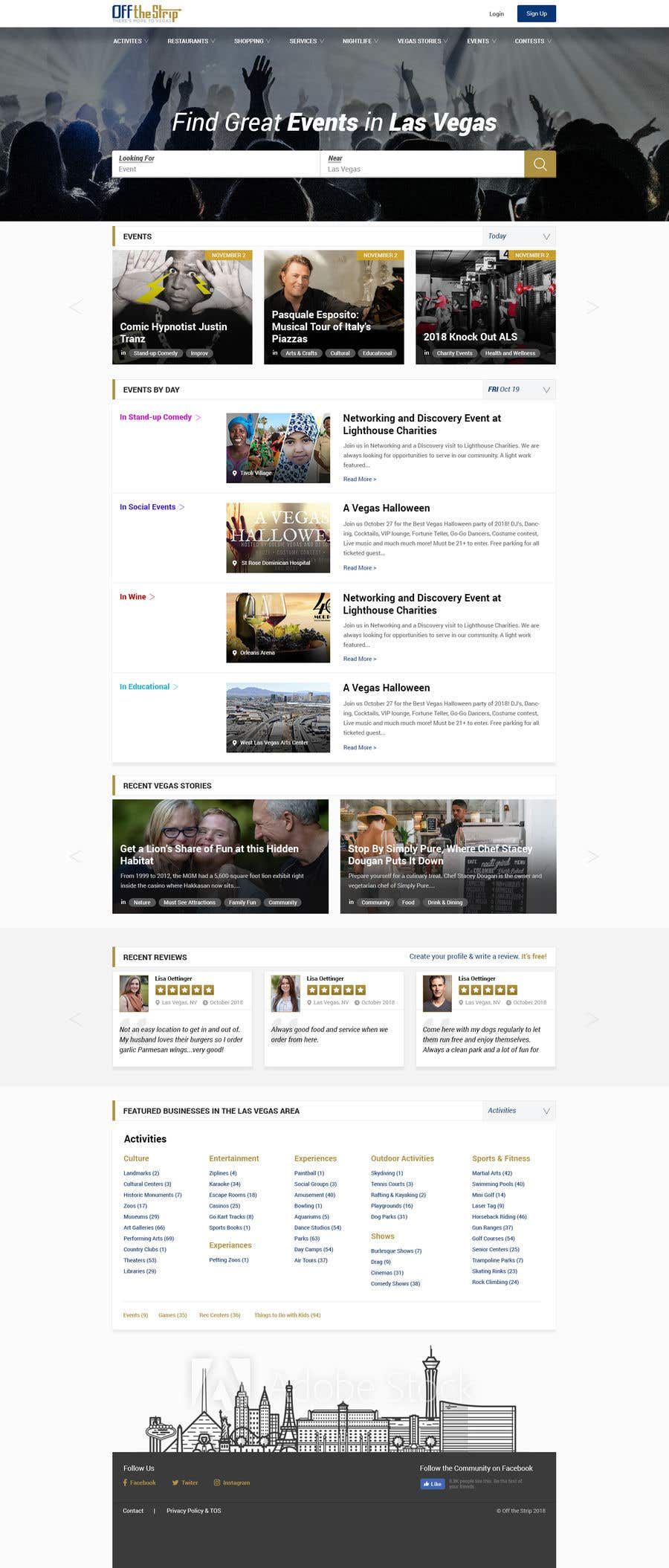 Contest Entry #22 for Homepage Redesign