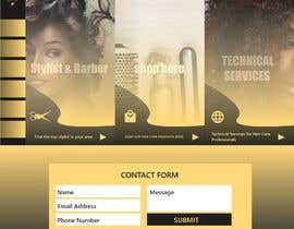 #18 para Basic Landing Page Design Needed - Hair Care Industry de gopi00712122