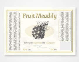 #15 for Mead / Wine Label by Mephid