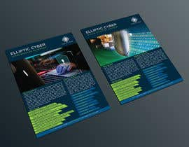 nº 22 pour Make a brochure for my cyber security company par JewelBluedot