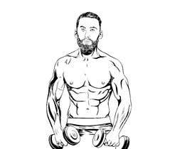 #4 for Cartoonist Job for Funny Bodybuilder Drawings (CONTEST for selection) by ldburgos
