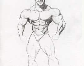 #30 for Cartoonist Job for Funny Bodybuilder Drawings (CONTEST for selection) by com54media