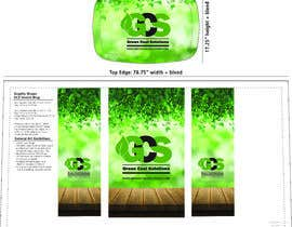 nº 38 pour Podium wrap design for convention booth par SamuelTawfels