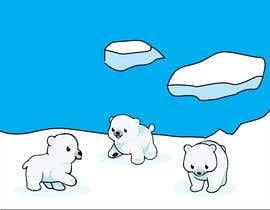 #9 for Design cute polar bear for GOOD CAUSE saving energy awareness campaign af abiadalyssac