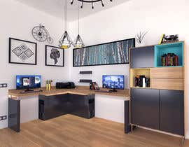 #47 για 3D Interior design for an office από unitdesignstudio