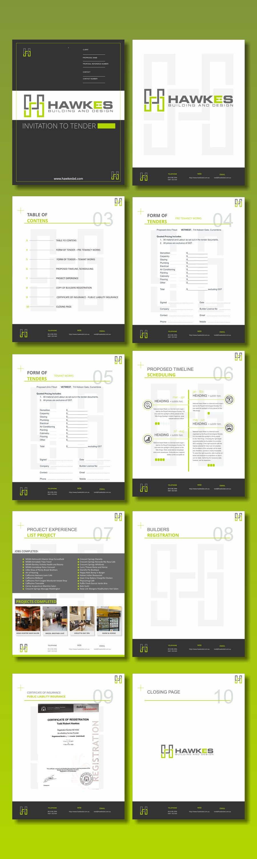 Kilpailutyö #18 kilpailussa Tender Proposal / Brochure