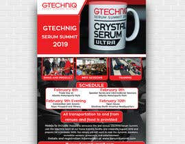 #32 for Design Gtechniq Serum Summit 2019 poster by tishaakter179