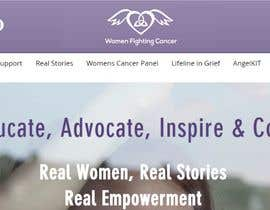 nº 11 pour Unique Logo fDESIGNER to help the US project Women Fighting Cancer par designgale