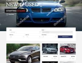 #17 untuk Website Redesign: Automotive Car dealer oleh rajeev2005