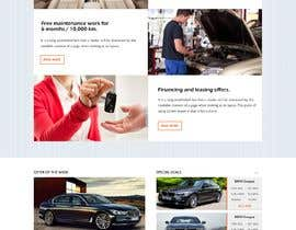 #14 for Website Redesign: Automotive Car dealer af webidea12