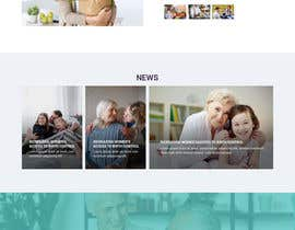 #13 for Create a Clean Homepage User Interface for Health Wesbsite by syrwebdevelopmen