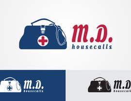 #67 для Design a logo for a Visiting Physician Practice - M.D. Housecalls від mslogodesign