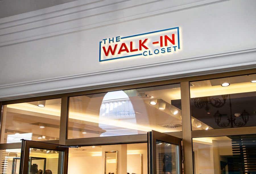 """Конкурсная заявка №112 для Logo for a vintage, resale shop called, """"The Walk-in Closet."""""""