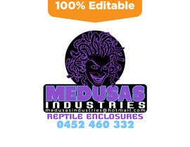 #11 for Recreate logo as vector - Medusa Industries af mehedihasan4