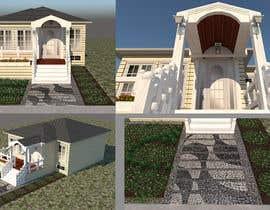 #44 pentru House Exterior Design / drawing - create a nicer entrance de către jesusrenteria