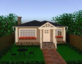 #14 pentru House Exterior Design / drawing - create a nicer entrance de către DohaElamin