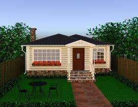 #27 pentru House Exterior Design / drawing - create a nicer entrance de către DohaElamin
