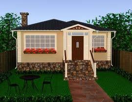 #35 pentru House Exterior Design / drawing - create a nicer entrance de către DohaElamin
