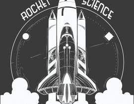 nº 69 pour Rocket Science Graphic T-Shirt Design par gmhashmi042
