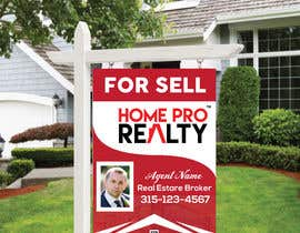 #93 for DESIGN A FOR SALE SIGN FOR A REAL ESTATE COMPANY by AR1069