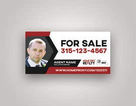#90 for DESIGN A FOR SALE SIGN FOR A REAL ESTATE COMPANY by Van0va